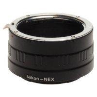 Nikon (F-mount) to Sony NEX (E-mount) Lens Adapter