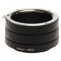 Nikon (F-mount) to Sony NEX (E-mount) Lens Adapter