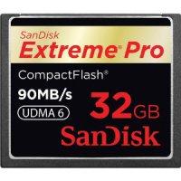 SanDisk 32GB Extreme Pro CF Memory Card