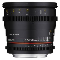 Rokinon 50mm T1.5 EF Mount Cinema Prime Lens