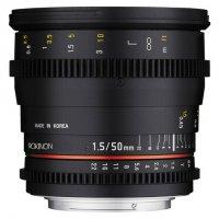 Rokinon 50mm T1.5 EF Mount Cinema Prime Lens