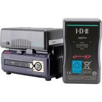 IDX E-HL9S Two Battery Kit - V Mount