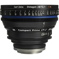 Zeiss Compact Prime CP.2 28mm T2.1 Cinema Lens