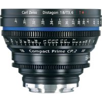 Zeiss Compact Prime CP.2 18mm T3.6 Cinema Lens