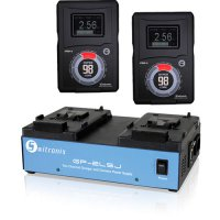 Switronix Pro-X Hyper 98V Mount Two Battery KIt