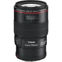Canon EF 100mm f/2.8L Macro IS Prime Lens