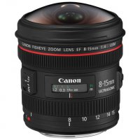 Canon EF 8-15mm f/4L Fisheye Zoom Lens