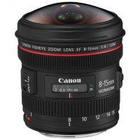 Canon EF 8-15mm f/4L Fisheye Zoom Lens