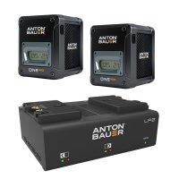 Anton Bauer Cine 150 V Mount Battery Two Pack