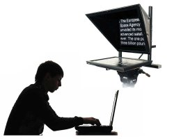 Teleprompter Package with Operator