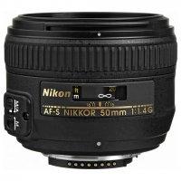 Nikon AF-S Nikkor 50mm f/1.4G Prime Lens