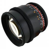 Rokinon 85mm T1.5 EF Mount Cinema Prime Lens