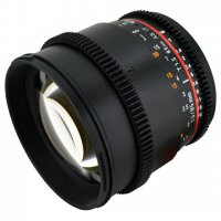 Rokinon 85mm T1.5 EF Mount Cinema Prime Lens